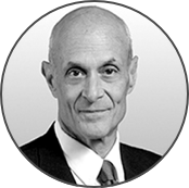 Professional profile photography of MICHAEL CHERTOFF CEO of the Chertoff Group, 2nd Secretary of U.S. Homeland Security.